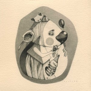 FOR HOGS WITH U / COLLEZIONE PRIVATA / 13 x 13 cm / matita grassa su carta - pencil on paper / 2017