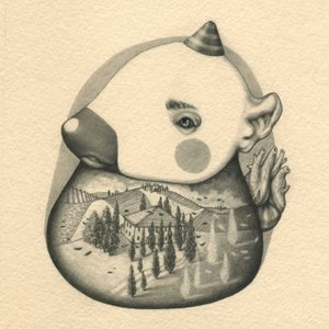 LAND-ESCAPE / COLLEZIONE PRIVATA / 13 x 13 cm / matita grassa su carta - pencil on paper / 2017